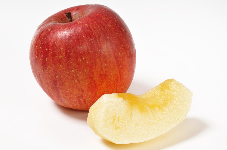 おいしいりんご。